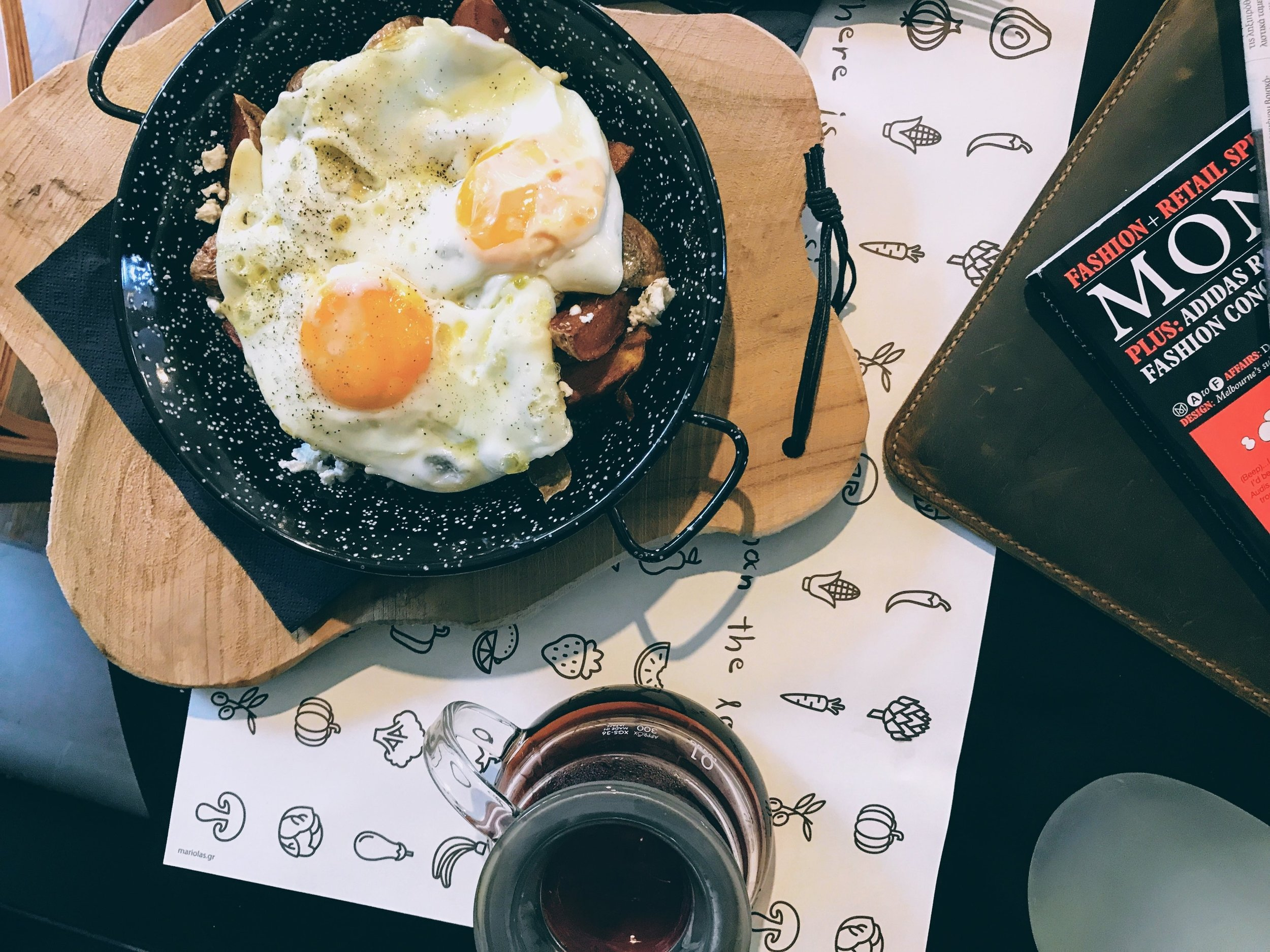 Athens: cosy coffee and homey brunch at Dizer