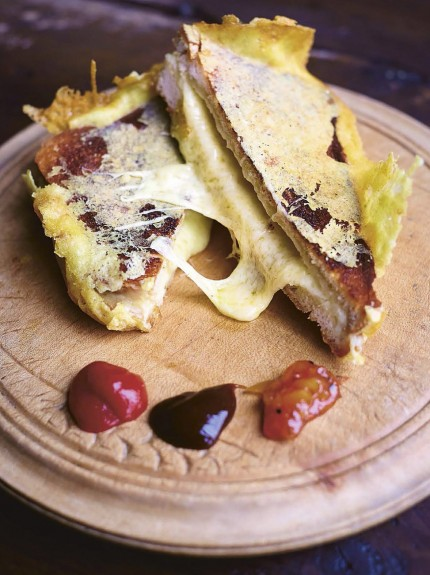 Recipe: No.1 toasted cheese sandwich