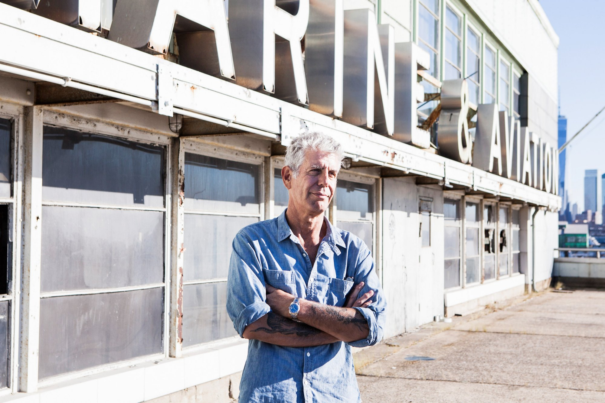 News: Anthony Bourdain is Opening a Huge, $60M Food Market in New York