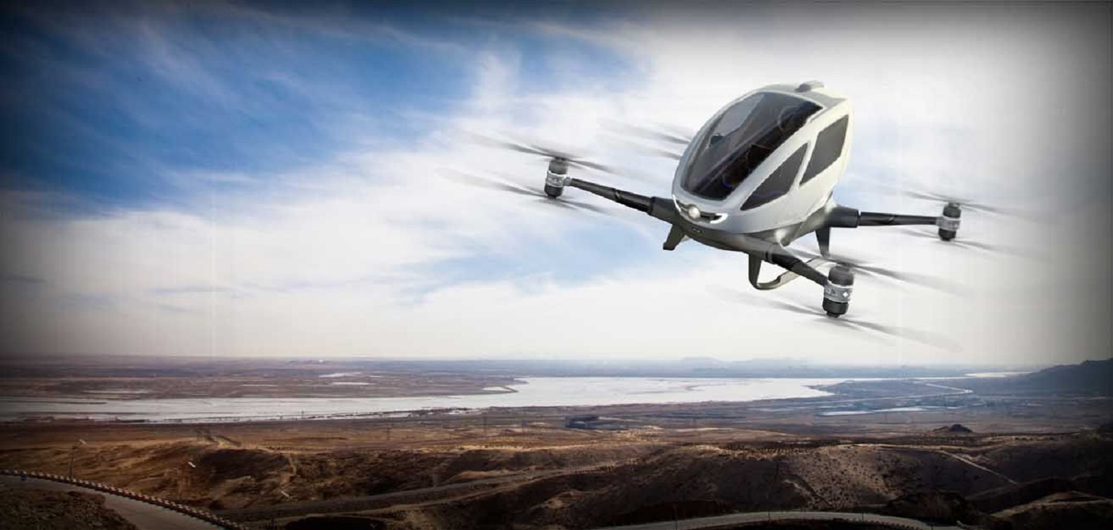 News: Driverless 'Uber For The Skies' Cleared For Take-Off In Dubai