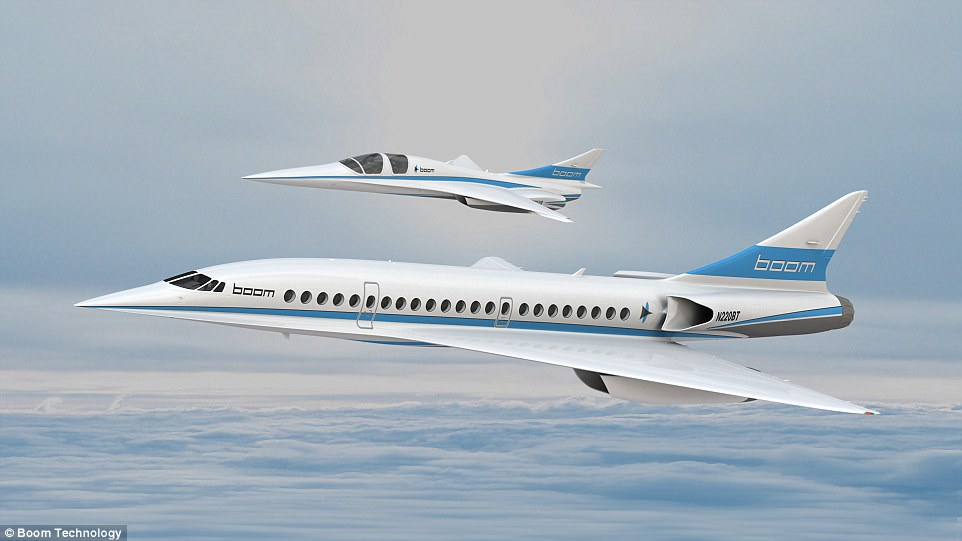 News: Supersonic jets may soon be back!
