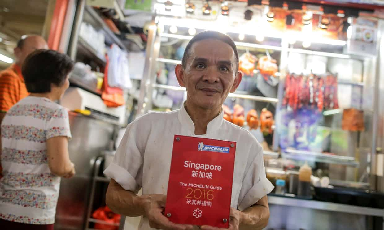 News: Michelin Guide gives boost to food stalls in Singapore