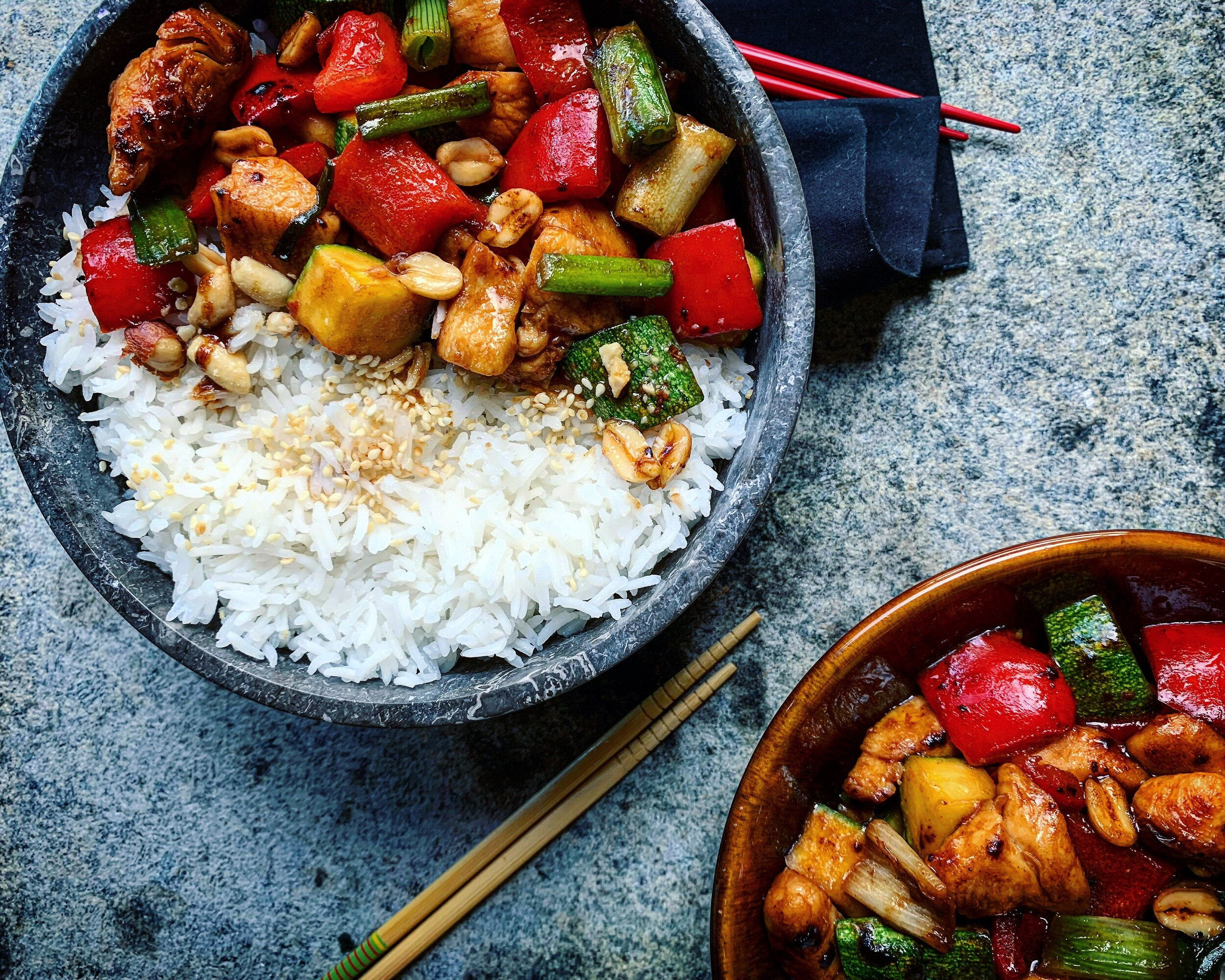Recipe: a classic Sichuan cuisines dish, the Kung Pao Chiken