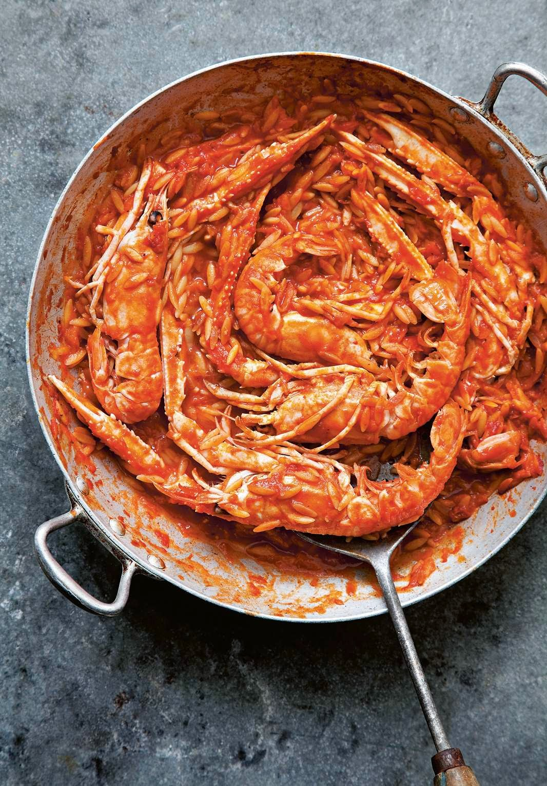 Recipe: Langoustines Kritharoto