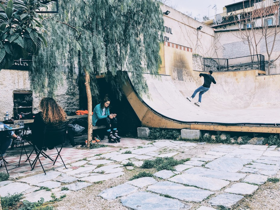 Athens: Eat, Drink and Skate at LATRAAC