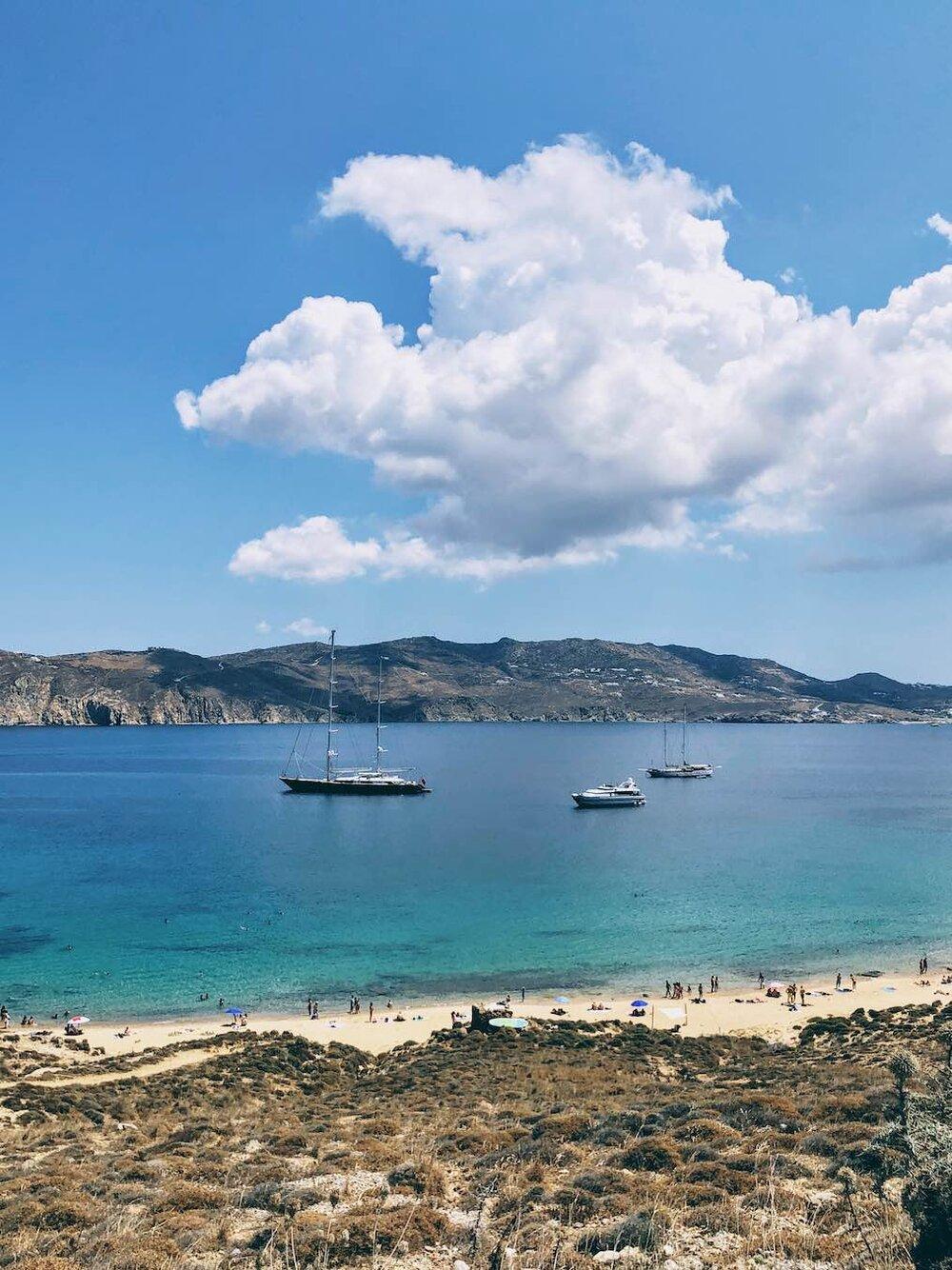 Travel Food People - Agios Sostis, Mykonos