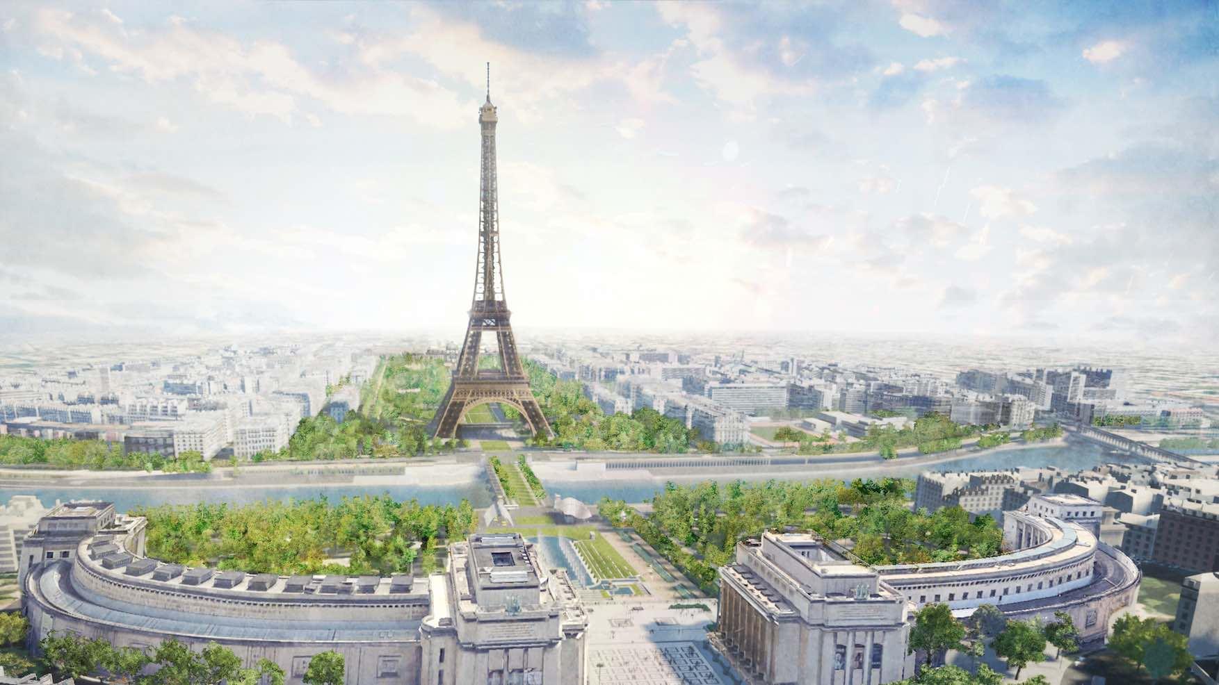 News: Paris Announces Plans for a Major New Park at the Eiffel Tower