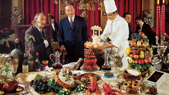 News: Salvador Dali's surreal cookbook reprinted by Taschen