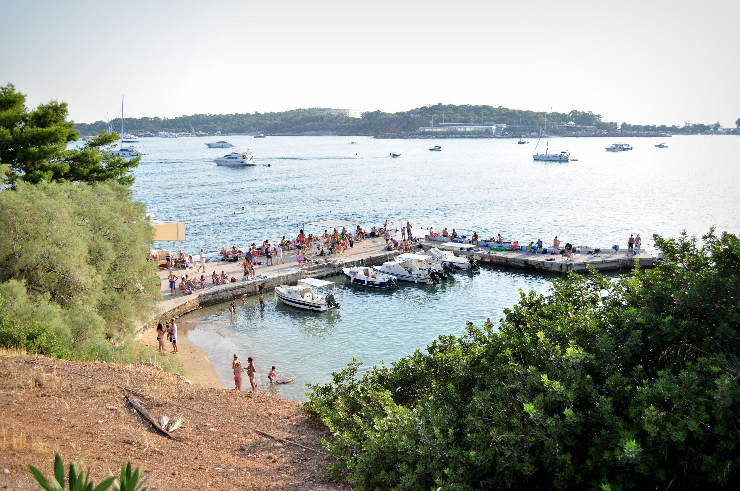 Neighbourhoods: southside around the Athenian Riviera