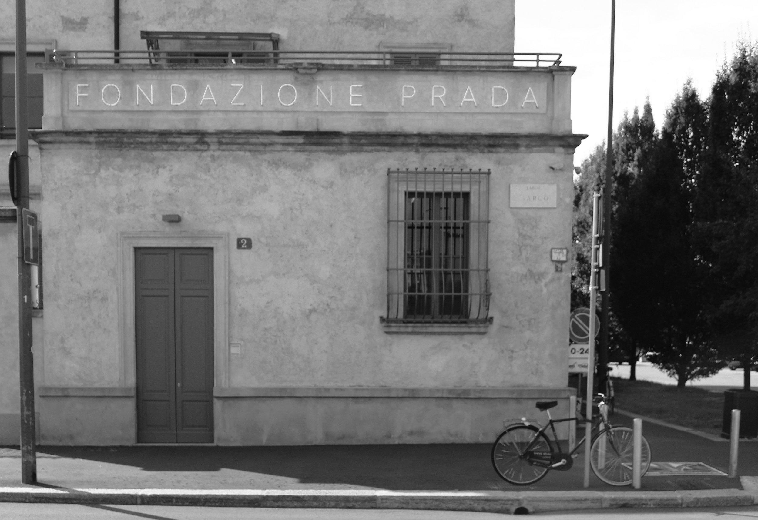 Milan: Sunday noon at Fondazione Prada