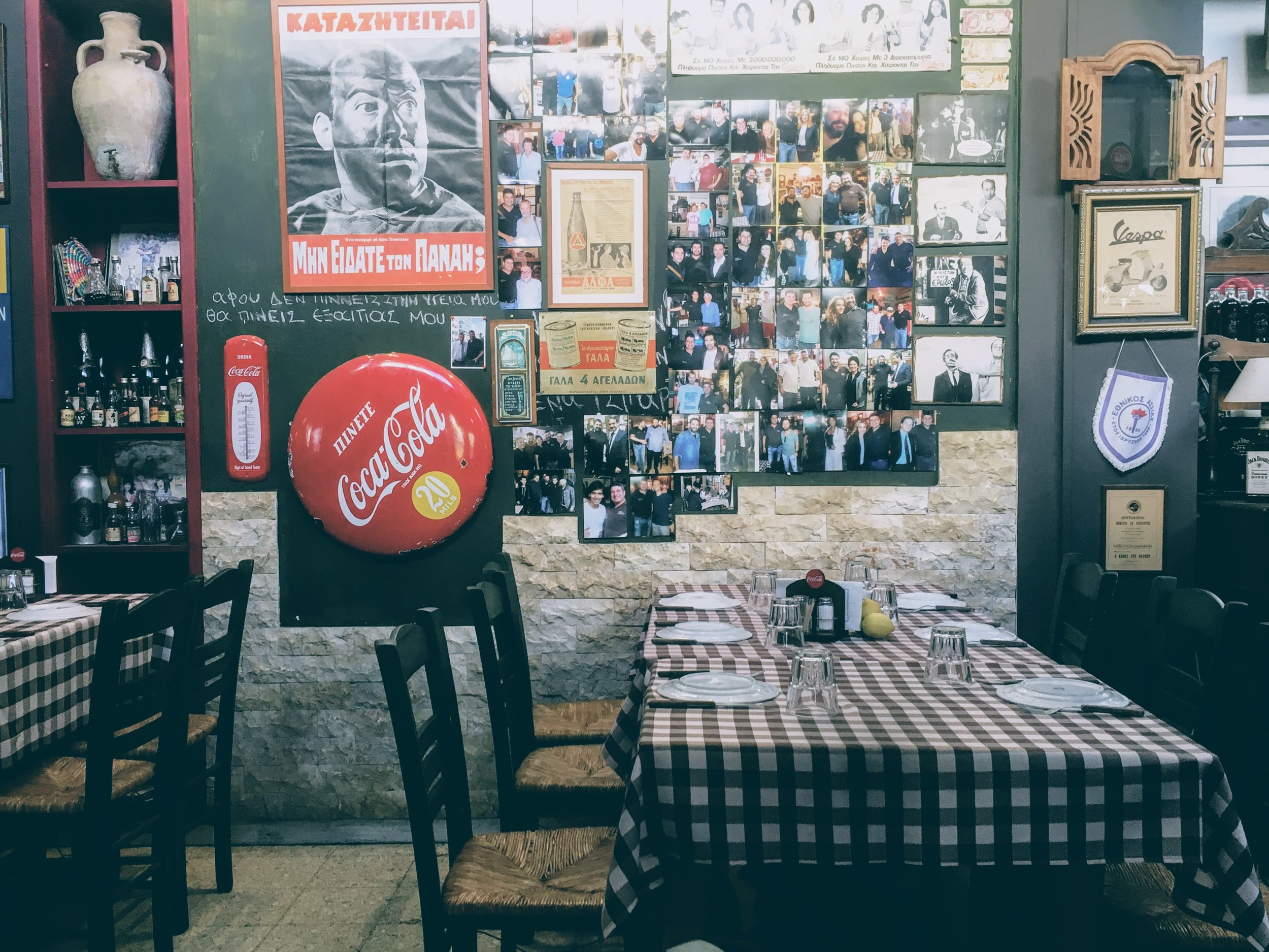 Nicosia: traditional Cypriot sheftalia at Pampos' tavern