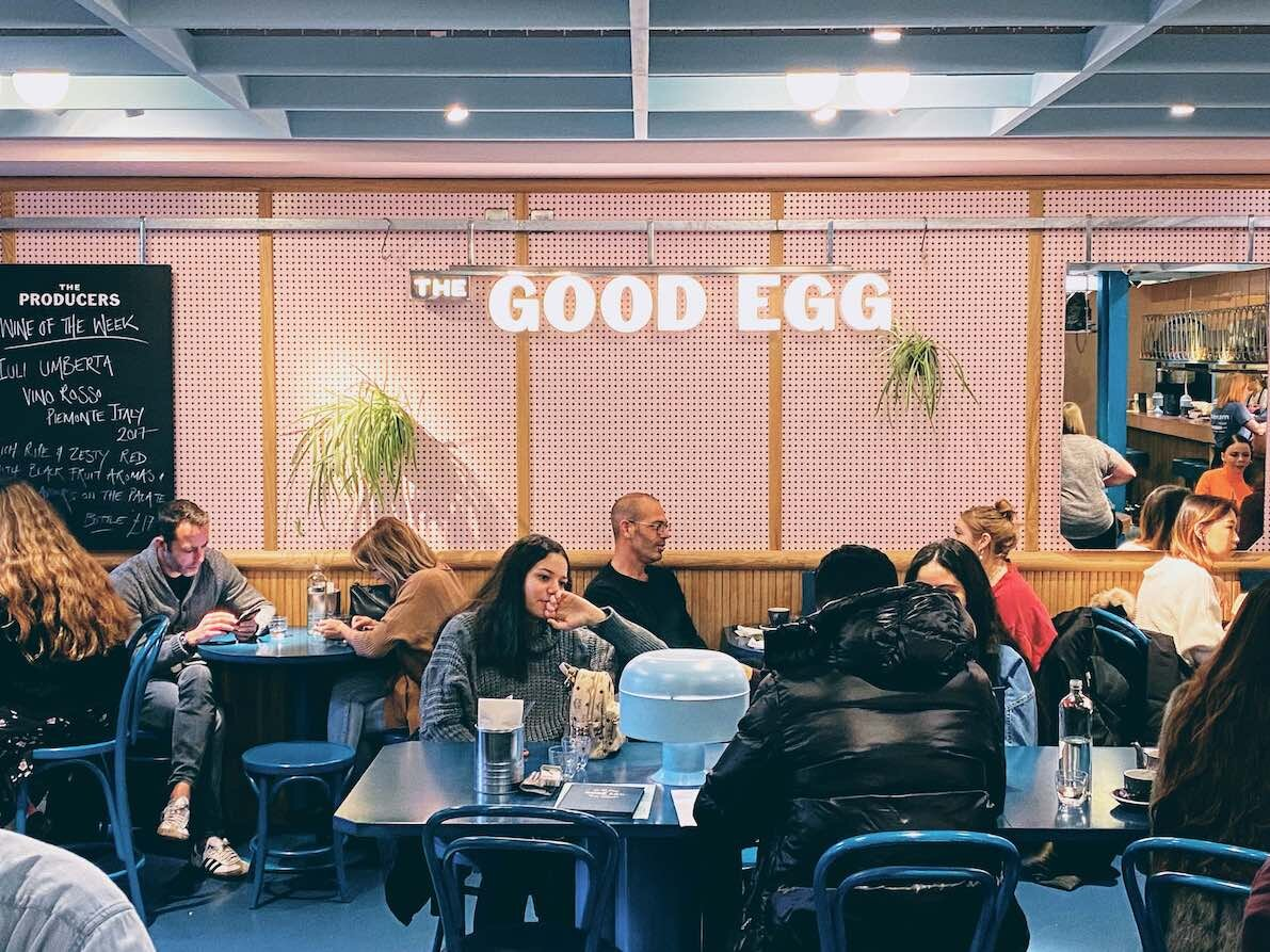 London: your quick egg-porn fix at The Good Egg