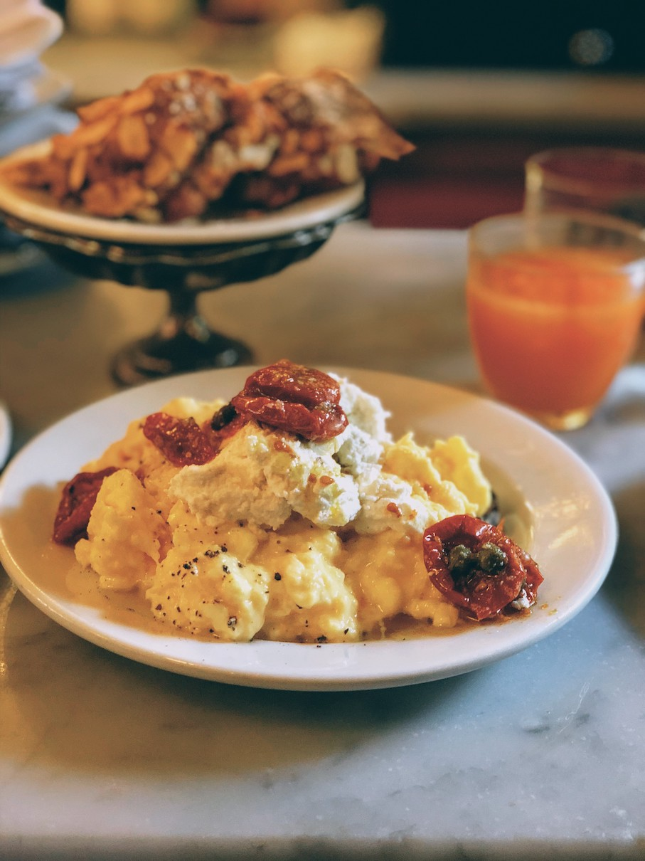 New York: Sunday brunch at Buvette