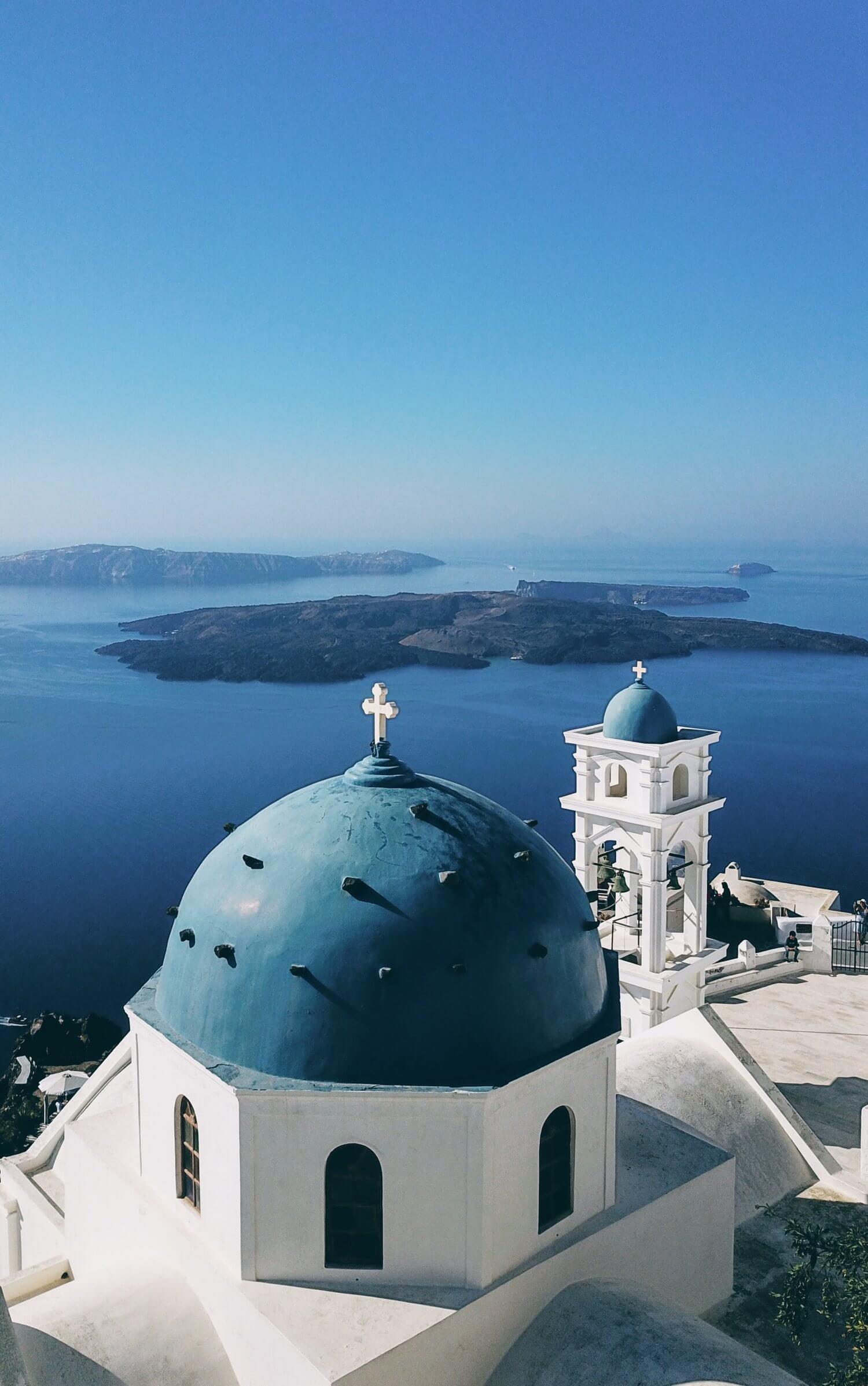 Photojournal: eternity must feel like Santorini