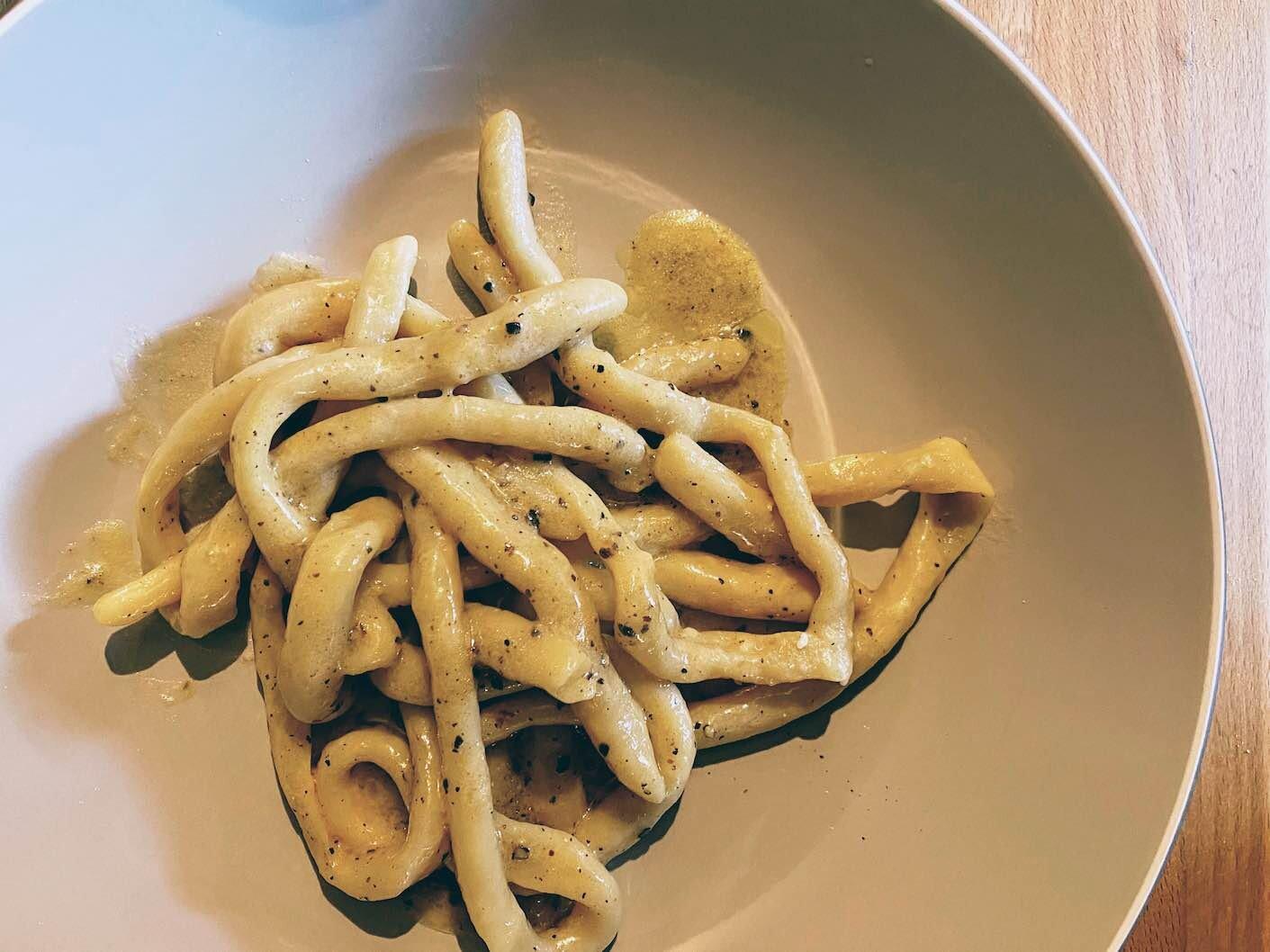 Recipe: how to make golden Padella's Pici Cacio e Pepe in 30mins