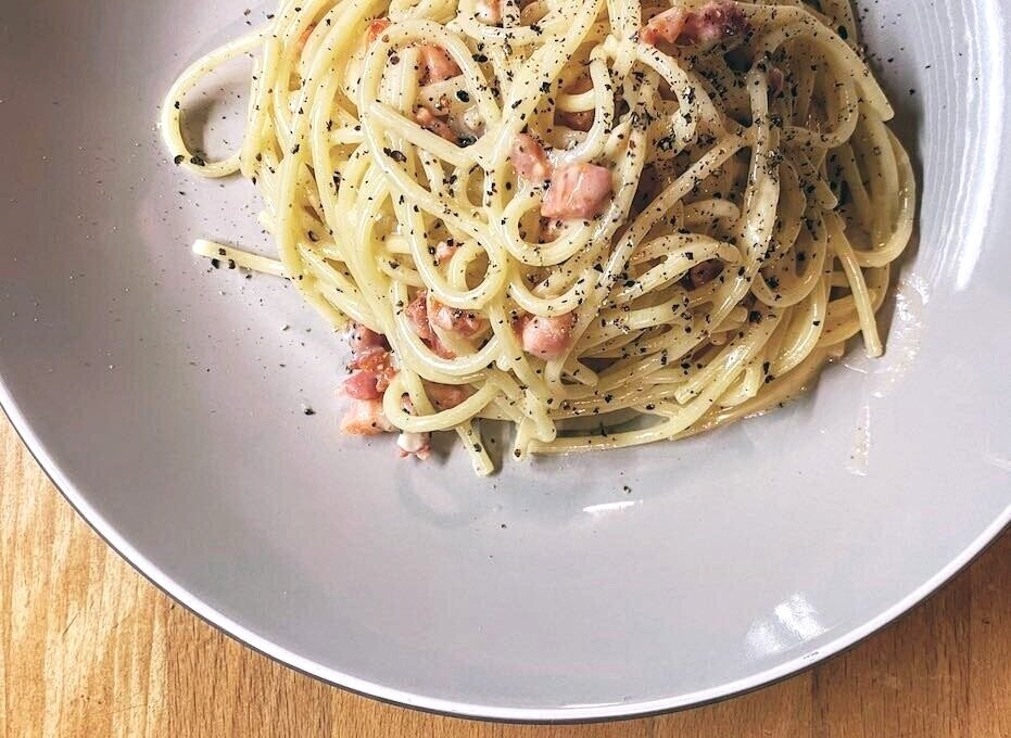 Recipe: the proper Carbonara Romana in less than 15 mins!