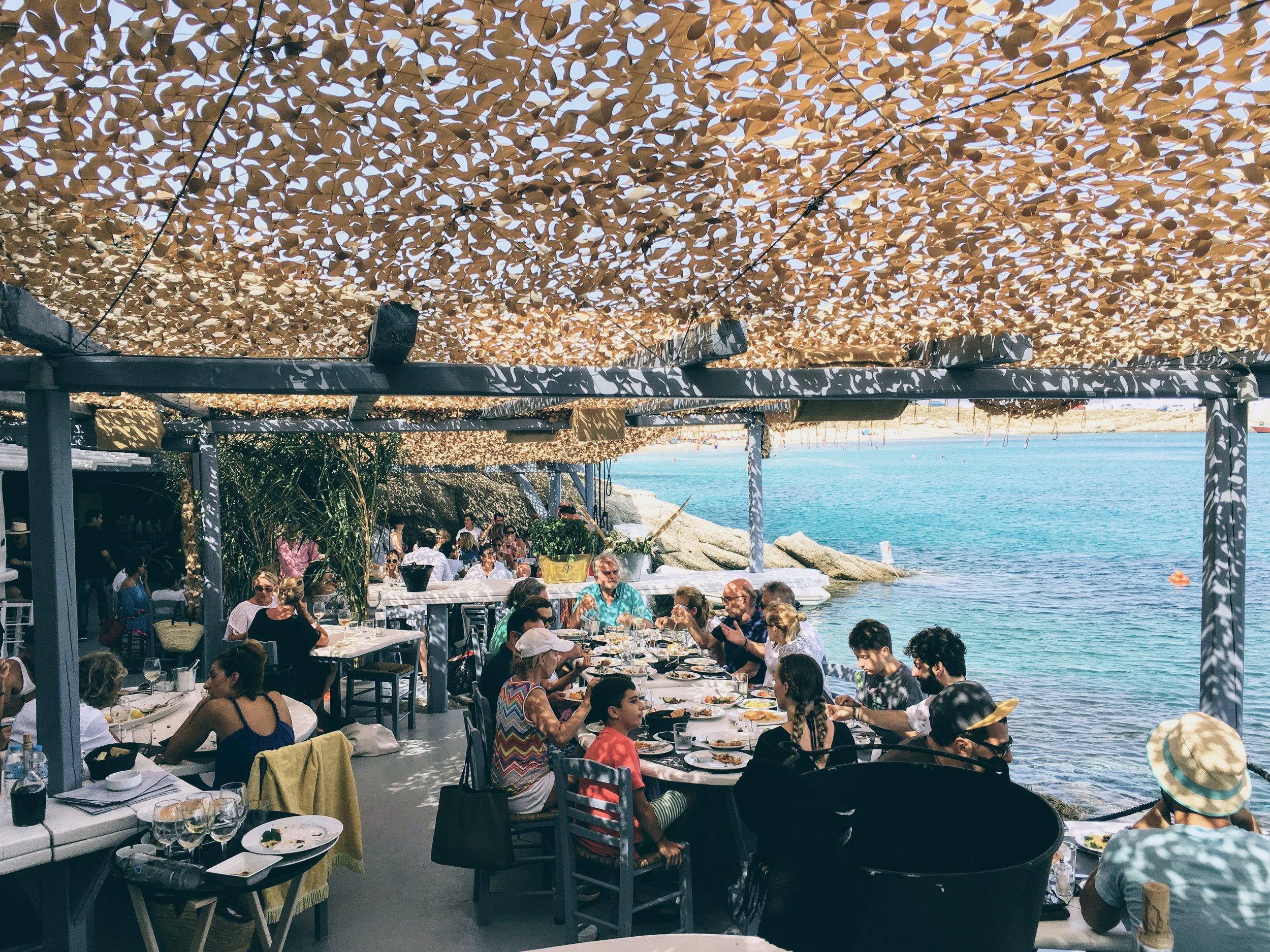 Mykonos: hidden inside the gorgeous cove of Spilia