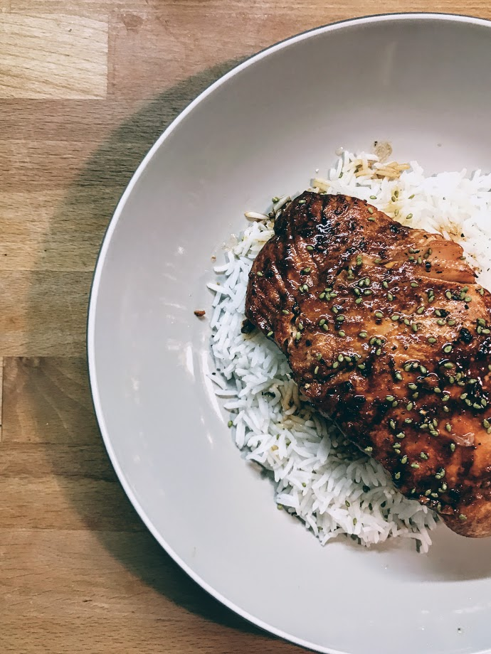 "Recipe: Salmon ""magic teriyaki"""