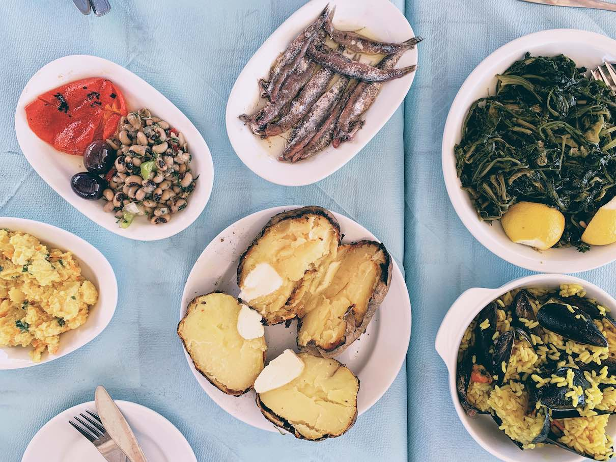 Volos: seaside meze at Jimmys