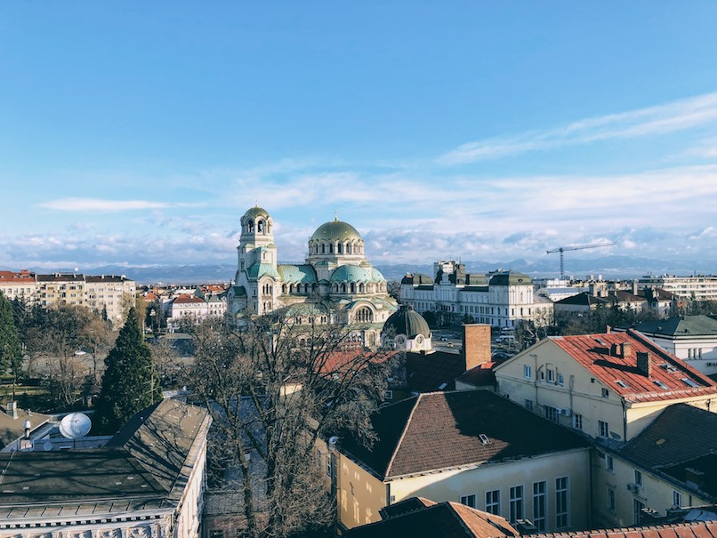 The Weekly Getaway: worn down aesthetics and religion in Sofia