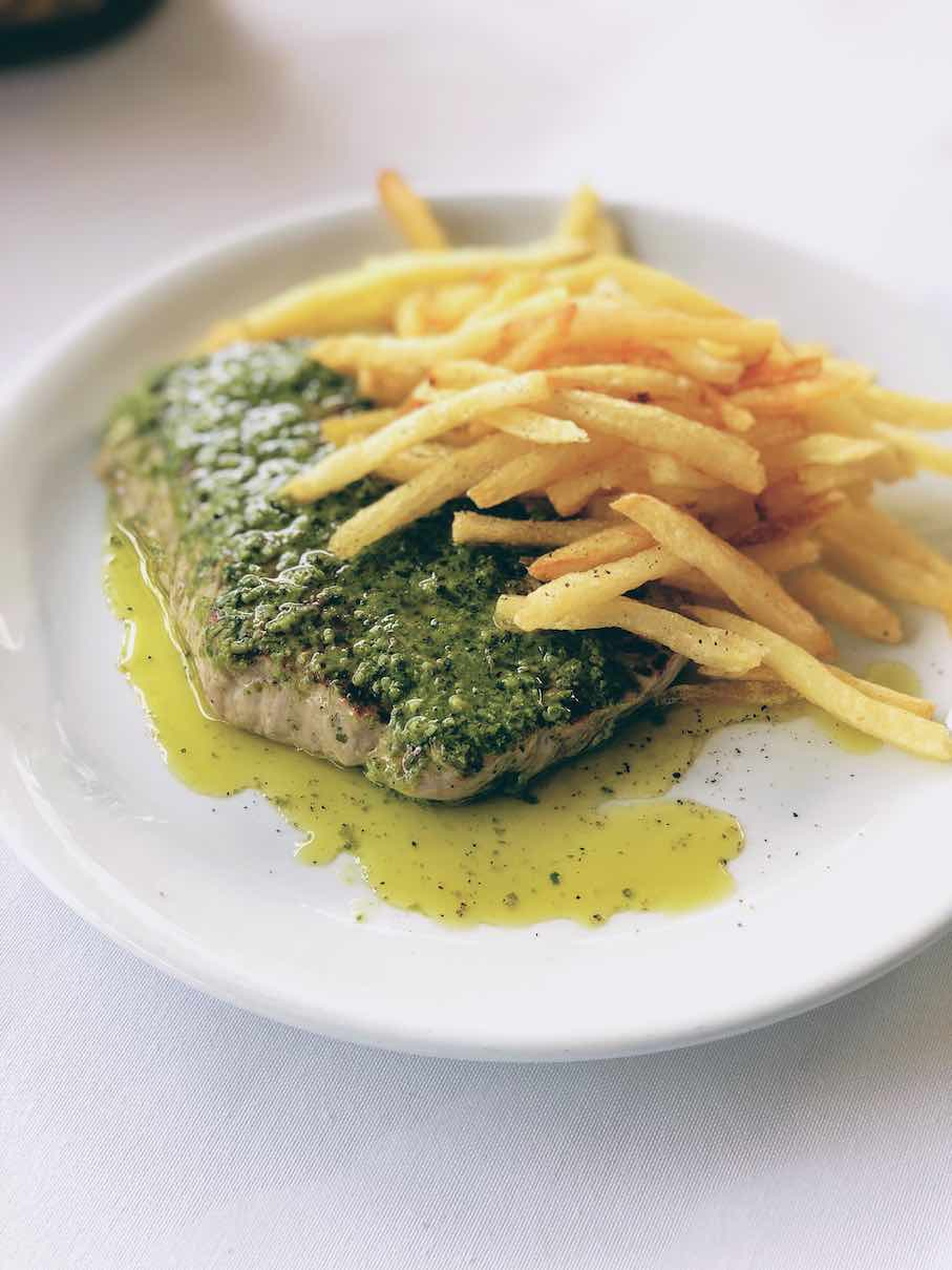 Athens: exquisite French dining at Blue Pine