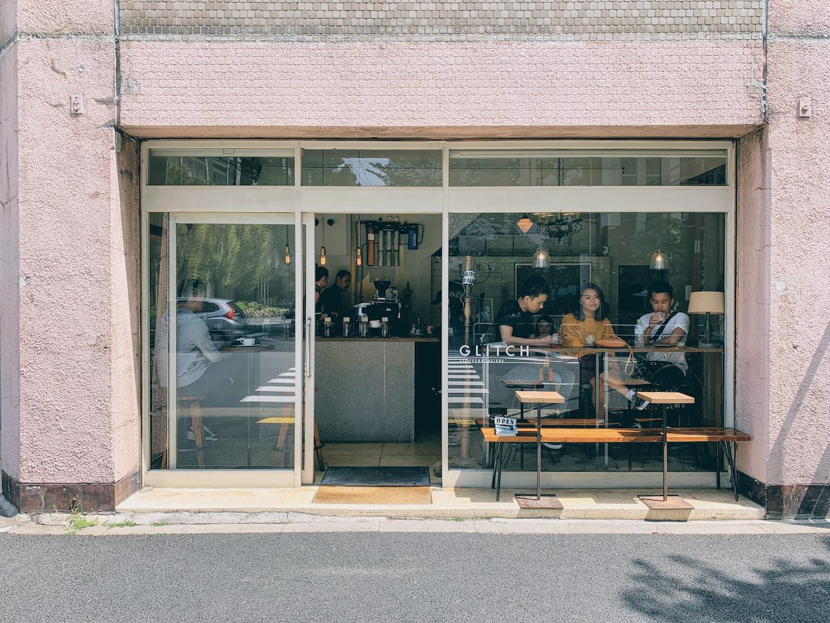 Tokyo: high quality specialty coffee at Glitch