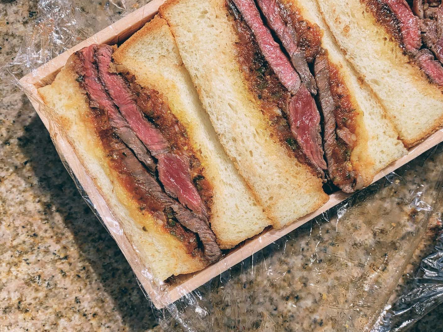 Tokyo: fine steaks and the ultimate Wagyu steak sandwich at Shima