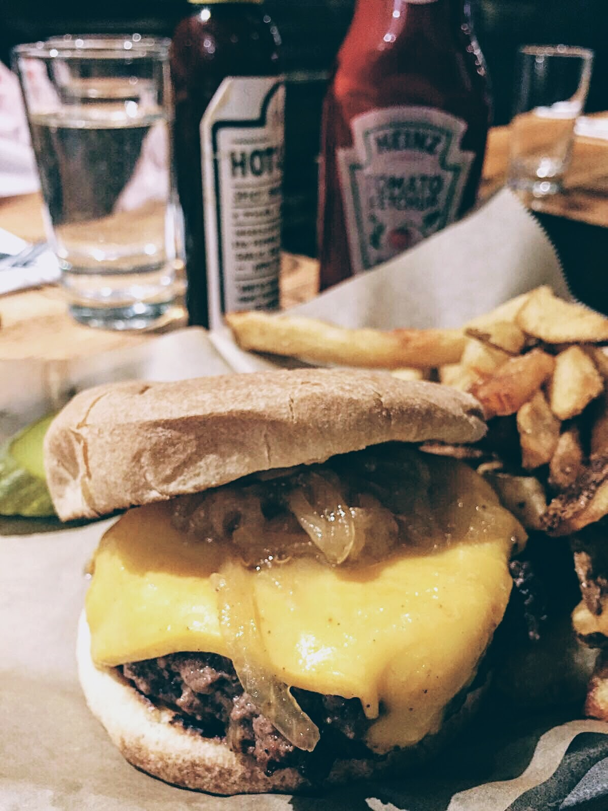 New York: undiscovered yet delicious burger at Brindle Room