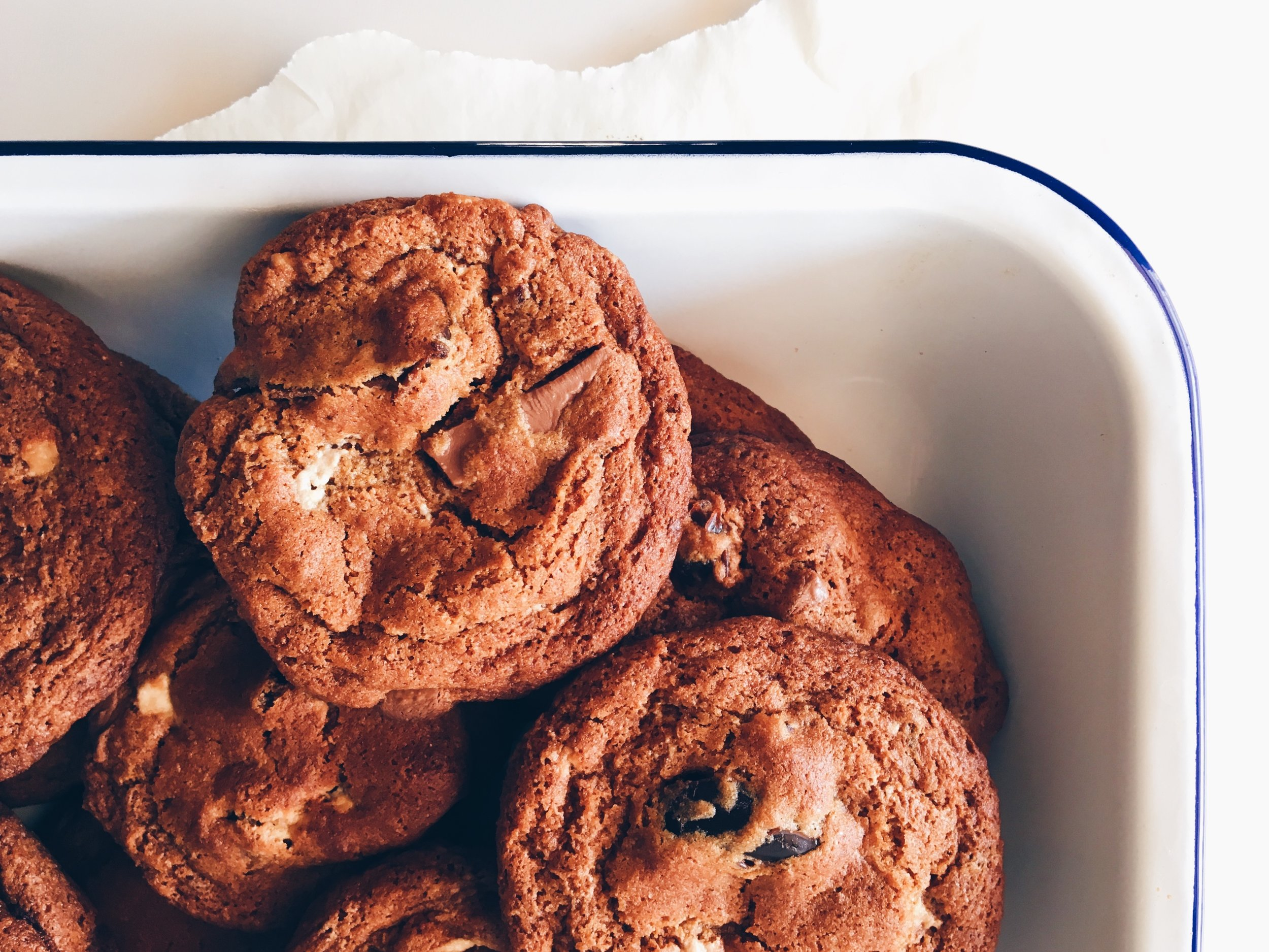 Recipe: Date, Halvah, and Chocolate Chunk Cookies