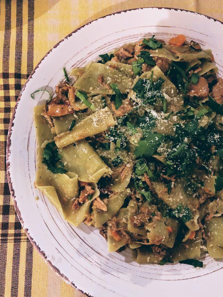 Athens: authentic recipes with handmade pasta at Maltagliati