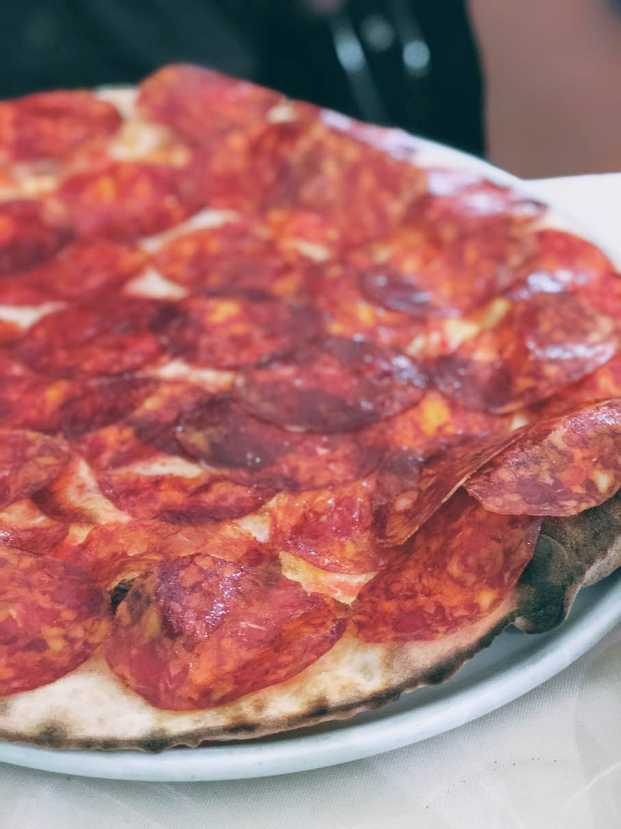 Milan: the best pizza at Le Specialita