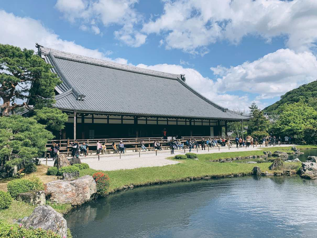 The Weekly Getaway: wandering around the serene manicured gardens of Kyoto