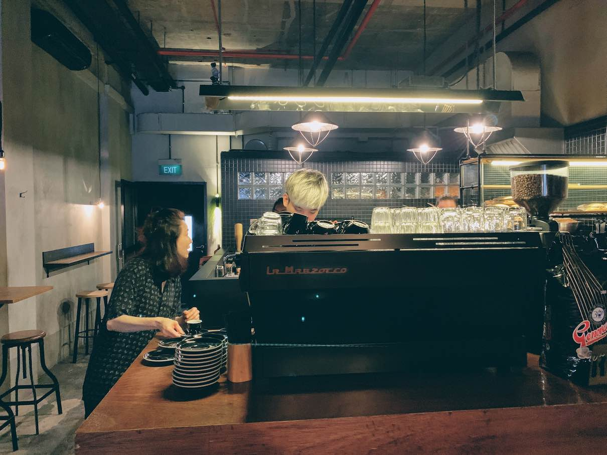Singapore: coffee and breakfast to go at RONIN