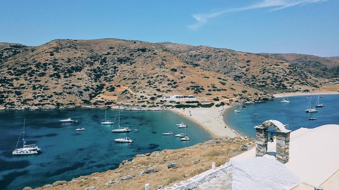 The Weekly Getaway: low-key familial Cycladic setting in Kythnos