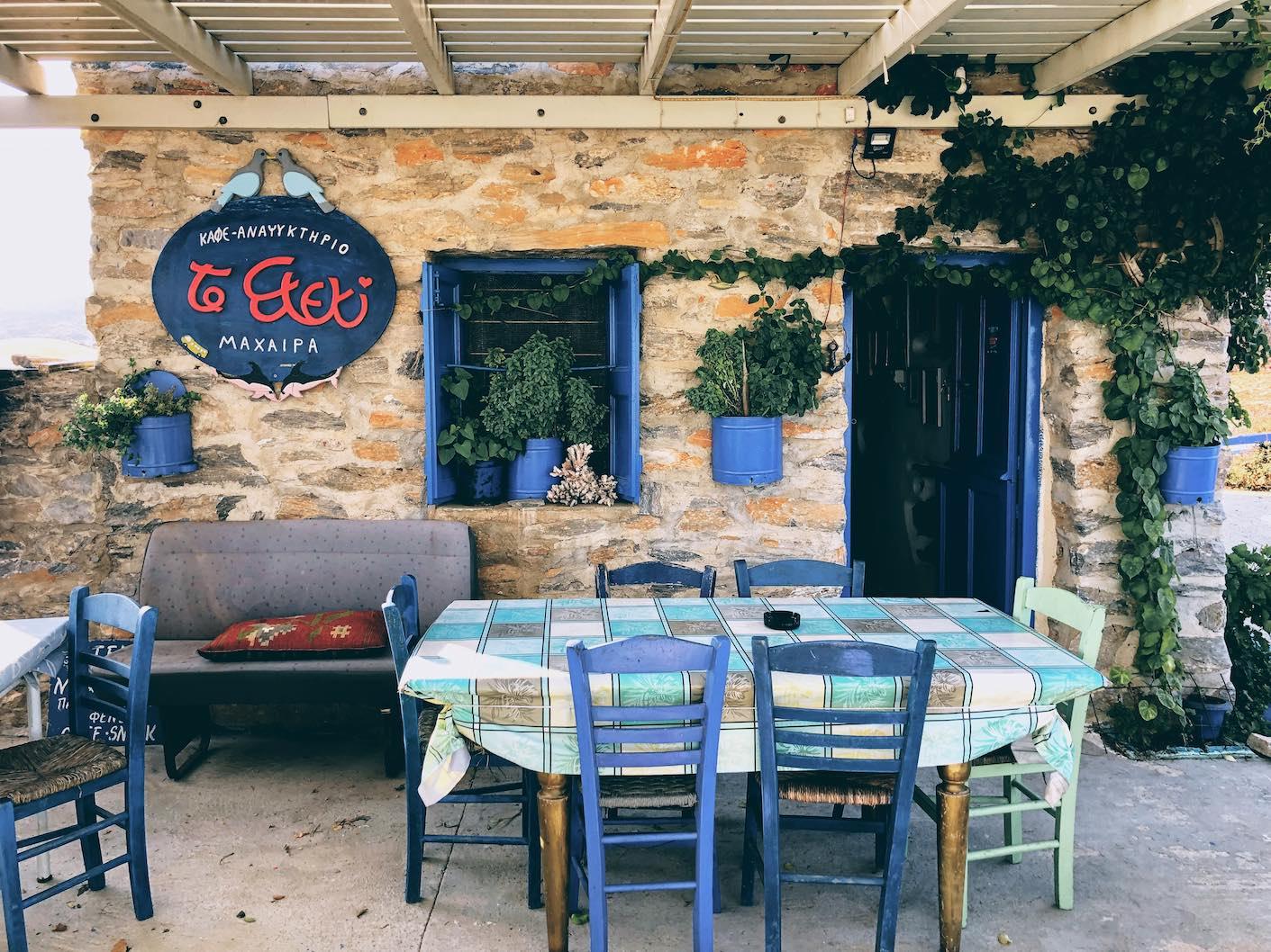 Amorgos: home-cooked treats at the serene spot of To Steki tou Machera
