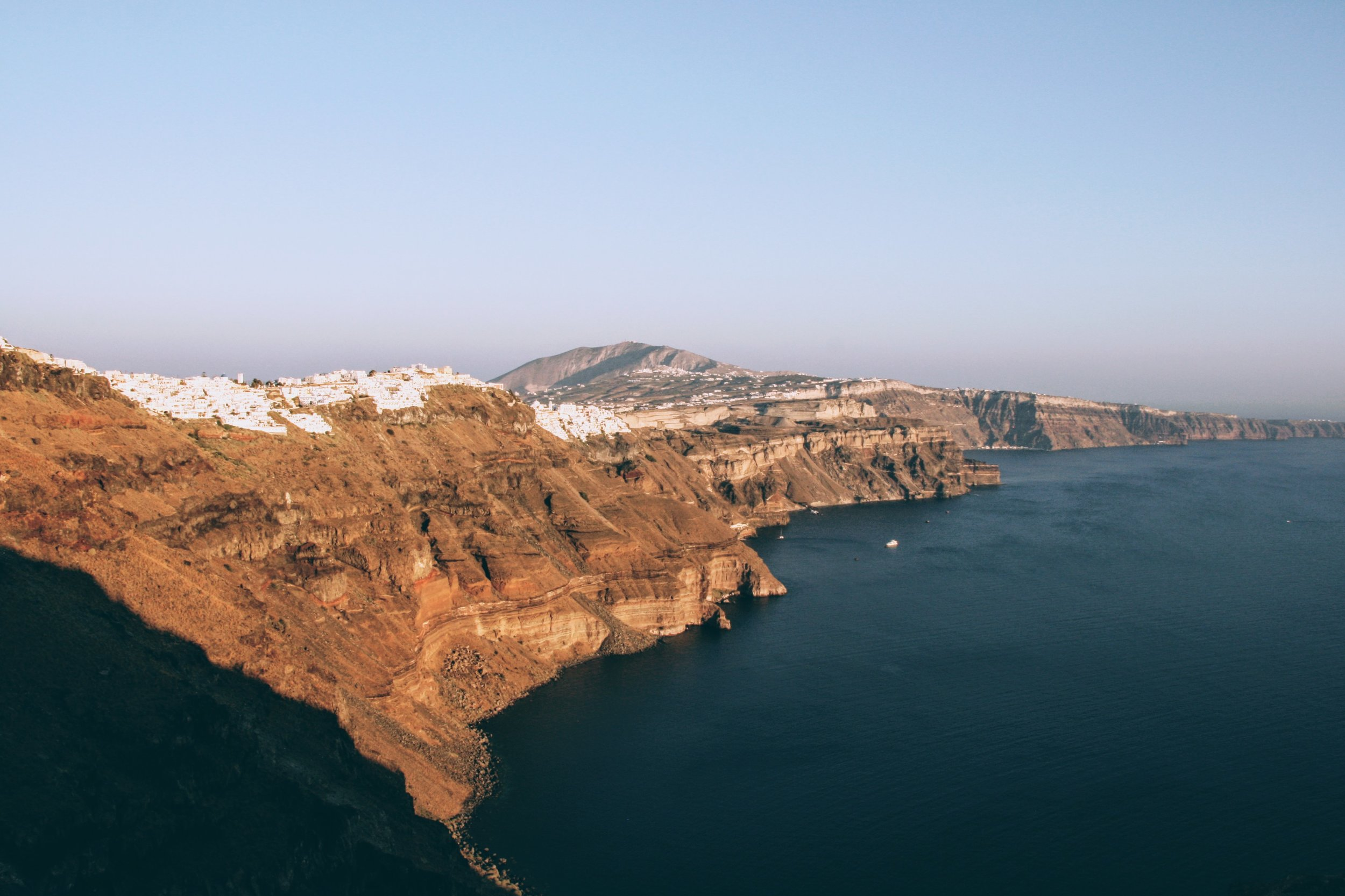 The Weekly Getaway: hanging off the volcanic cliffs of Santorini