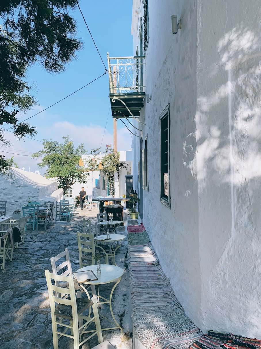 Amorgos: elegantly traditional mornings at Mayasi wine bar