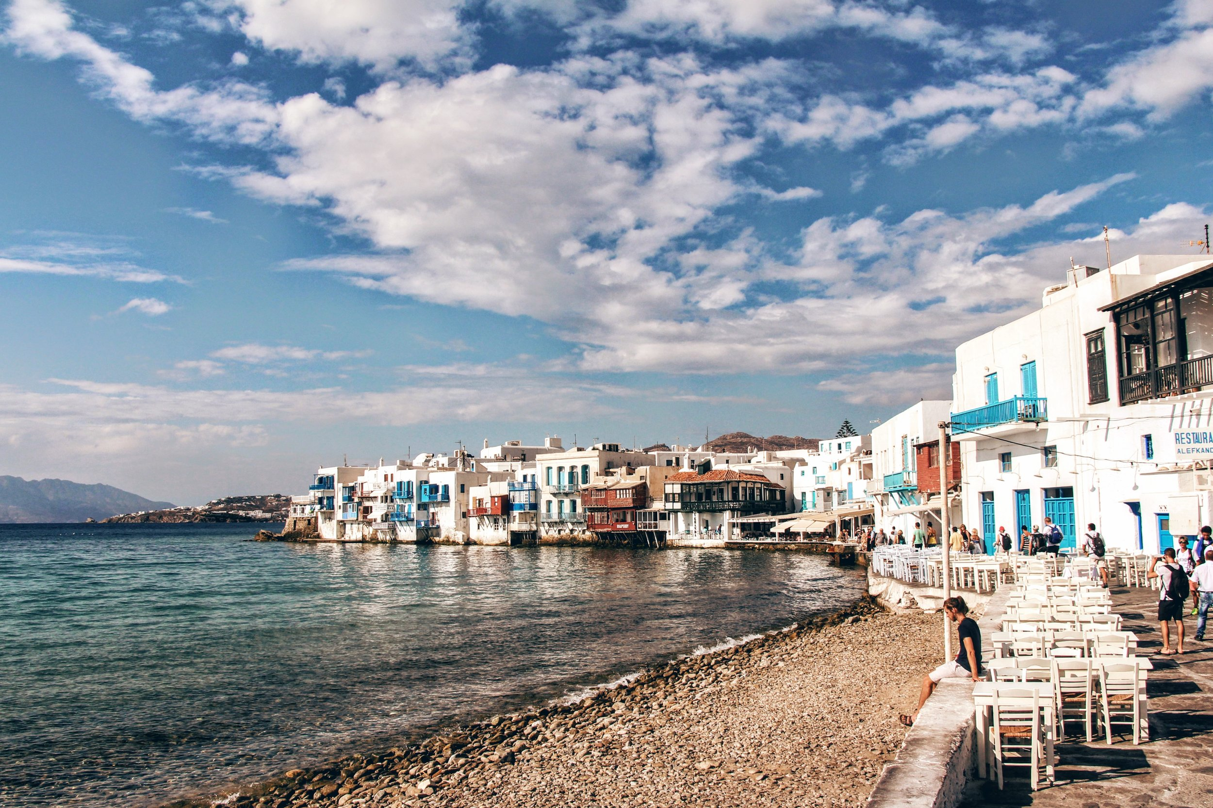 The Weekly Getaway: the windmills of Mykonos