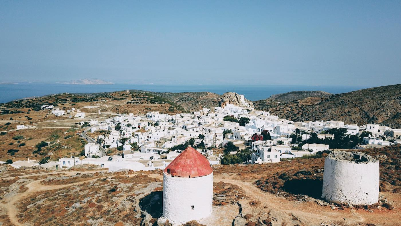 The Weekly Getaway: northern winds, mountainous life and the eternal blue of Amorgos