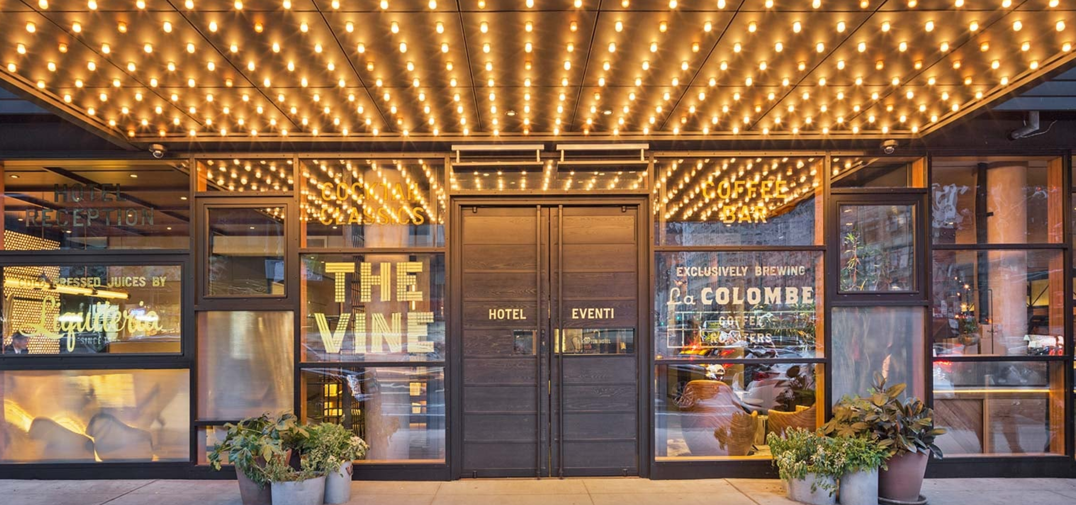 New York: The Vine is not your average hotel lounge