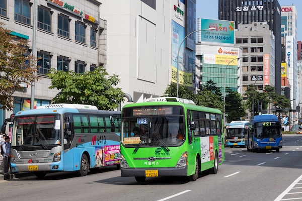 News: Seoul puts the brakes on food and drink inside its public buses