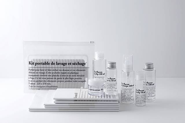 News: Muji's minimalist travel accessories now come with a typographic twist