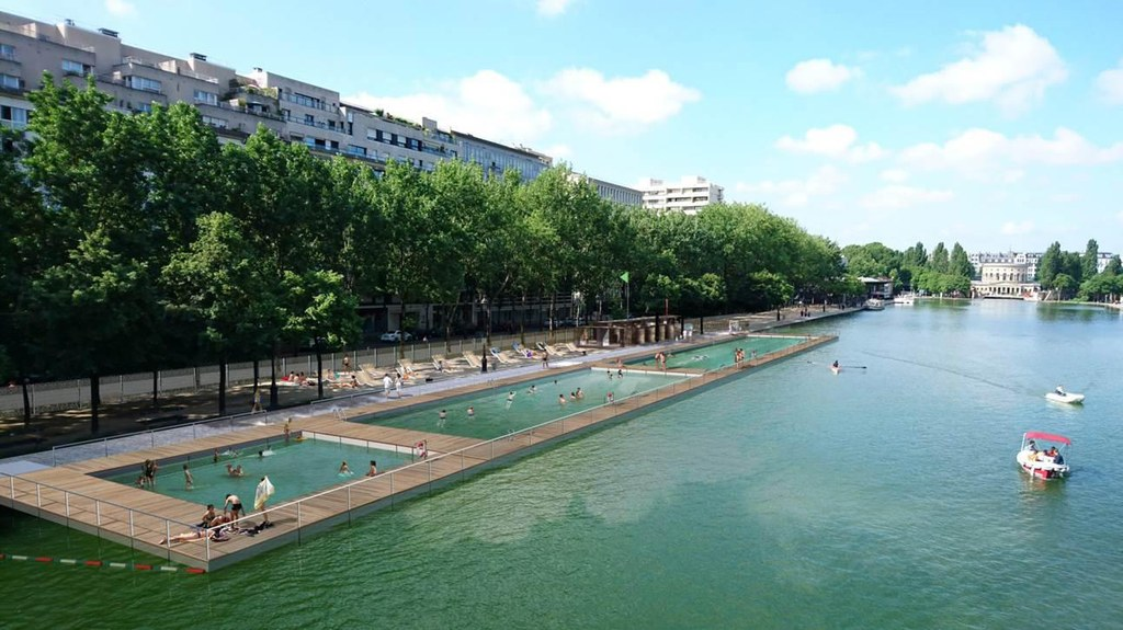 News: Parisians can now take a dip in the Seines to cool off