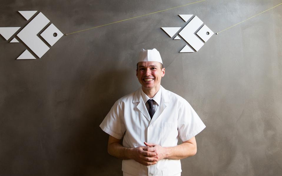 News: Greek sushi master among world's 100 best chefs