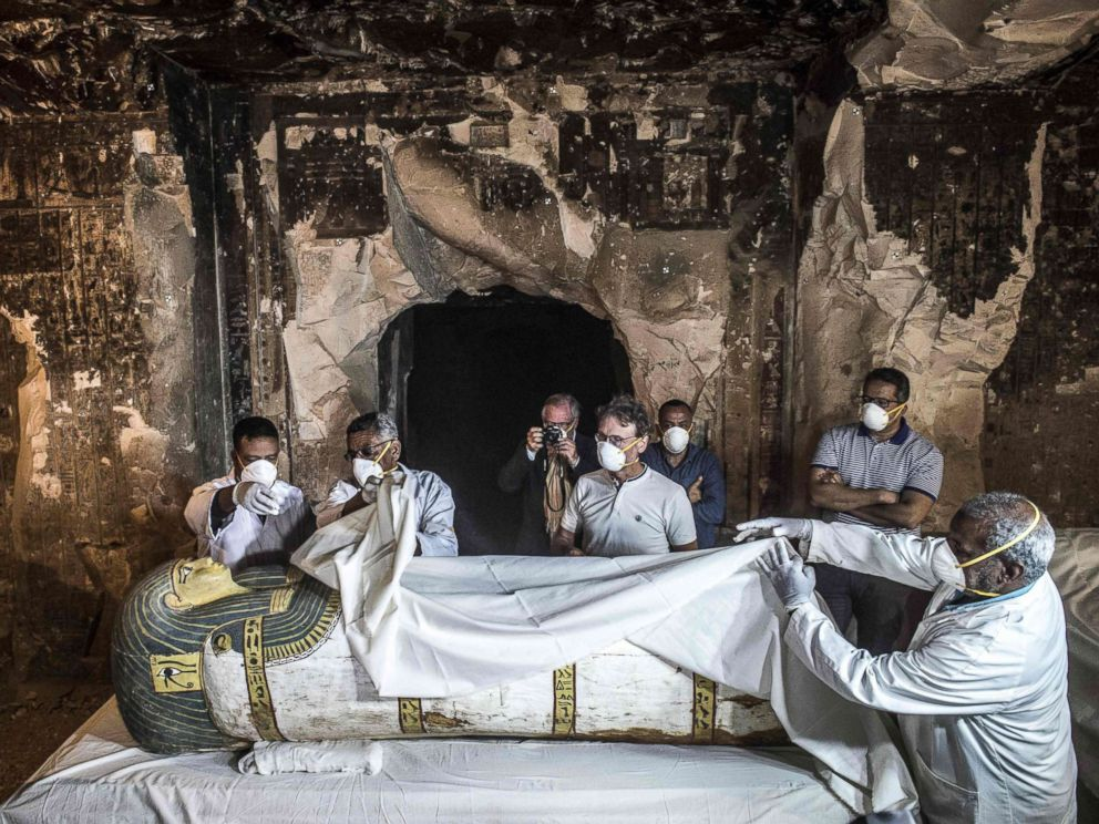 News: 13th century priest's tomb discovered in Egypt's Luxor