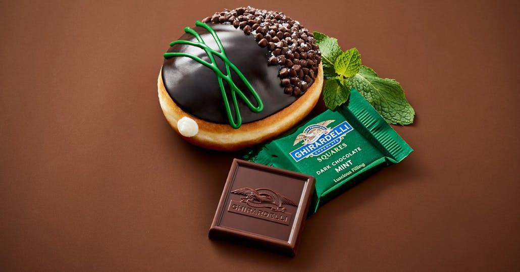 News: Krispy Kreme Just Unveiled 2 Ghirardelli Doughnuts