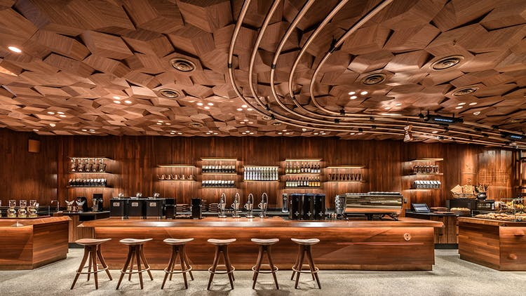News: Step Inside the World's Largest Starbucks Location