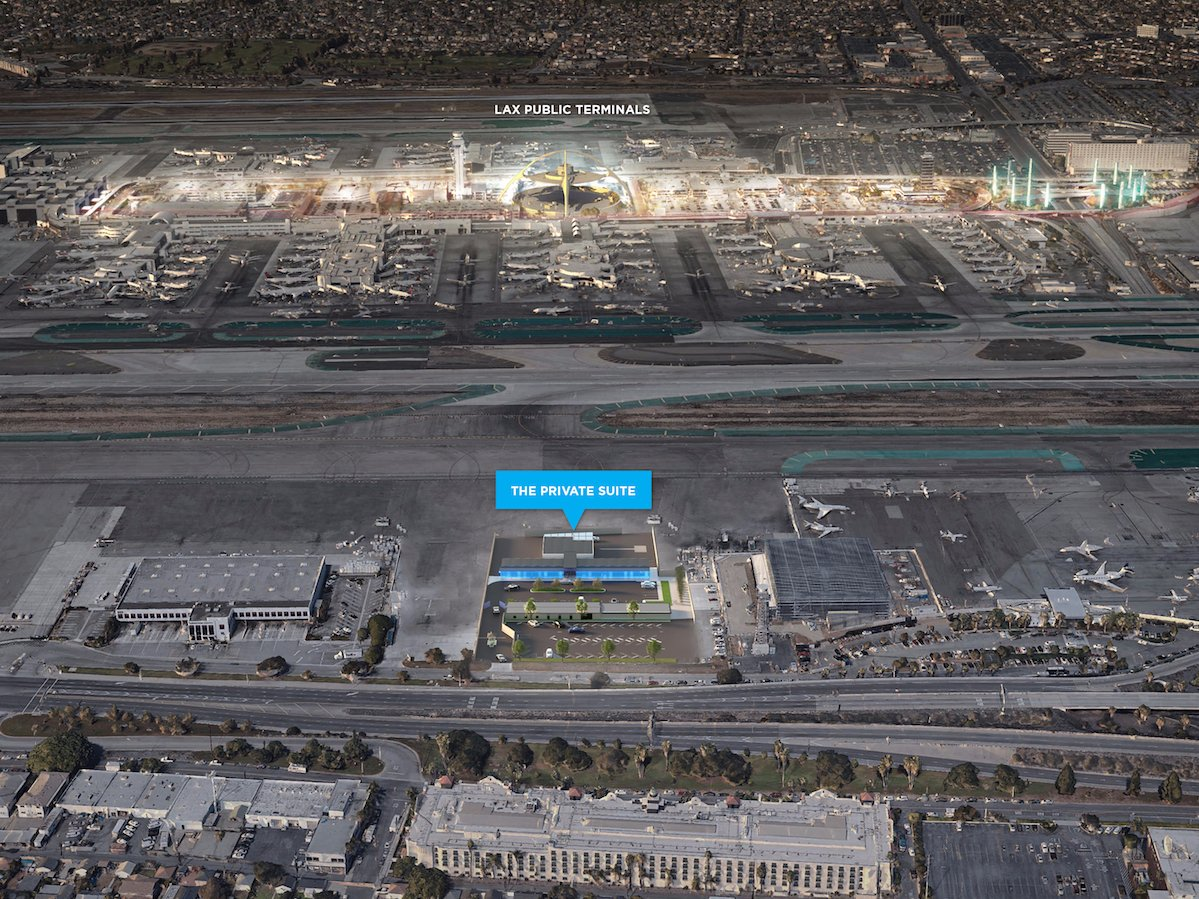 News: LAX gets private terminal for VIPs