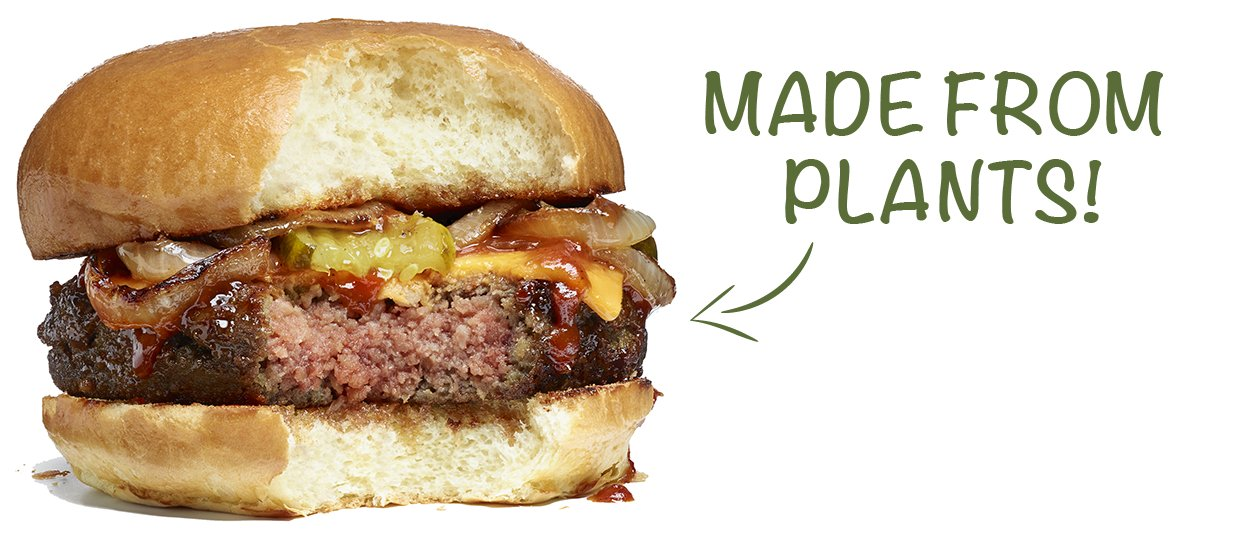 News: Meatless burger that cooks, smells and tastes real!