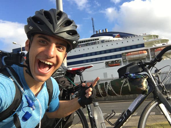 News: Homesick Student Cycles From Scotland to Greece During the Pandemic